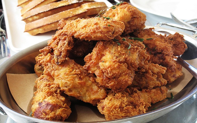 Tom's Fried Chicken in a Basket Recipe