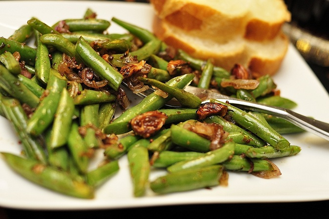 French Green Beans with Shallots Recipe