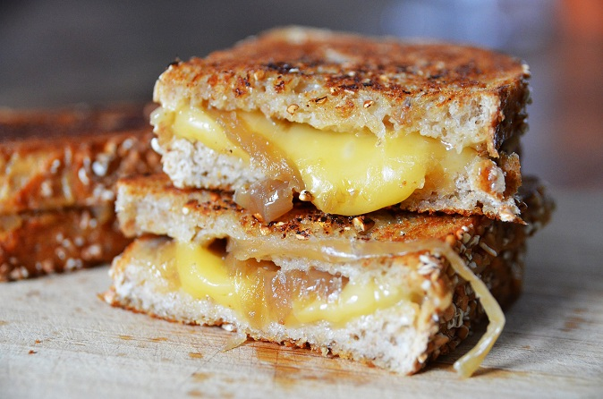 French Gruyere Toasties Recipe