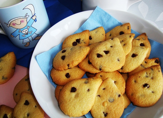 Biscuits with Chocolate Chips ( Gocciole )