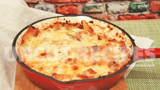Easy To Make Skillet Lasagne Recipe