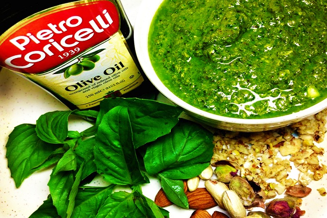Pesto Sauce Recipe Italian Recipes Uncut Recipes