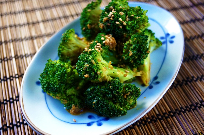 Japanese Broccoli with Sesame Sauce Recipe