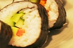 Japanese Carrot Pepper And Cucumber Sushi Recipe