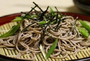 Japanese Cold Soba with Scallion-Ginger Paste ( 冷たいそばとネギ生姜ペースト ) Recipe