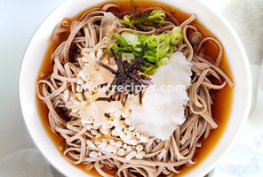 Japanese Oroshi Soba Recipe ( おろし蕎麦 )