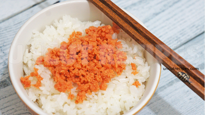 Japanese Rice with Salmon Flakes ( 鮭フレーク米 ) Recipe