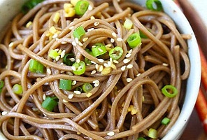 Japanese Soba Noodle Salad with Honey ( そば麺とはちみつ ) Recipe
