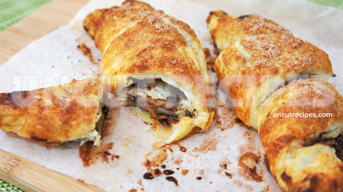 Nutella Banana Croissants - 02